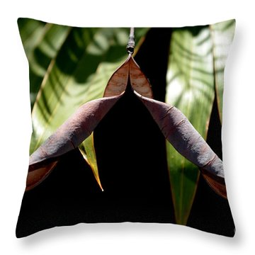 Husk Throw Pillow by Michelle Meenawong