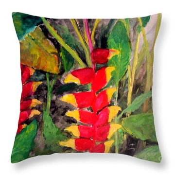 In The Middle Of The Brushwoods Throw Pillow