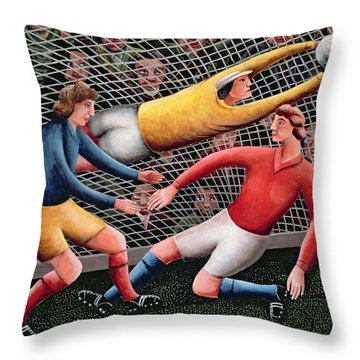 It's A Great Save Throw Pillow by Jerzy Marek