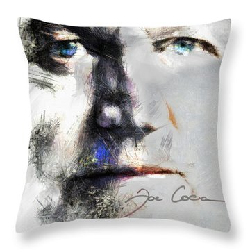 Joe Cocker - Hymn For My Soul     Throw Pillow