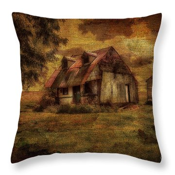 Just Biding Time Throw Pillow by Lois Bryan