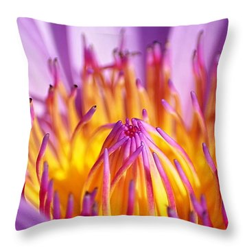 Just Purple Throw Pillow