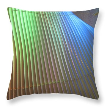 Lights With Color Throw Pillow