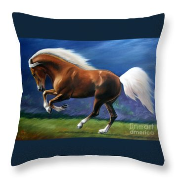 Magnificent Power And Motion Throw Pillow