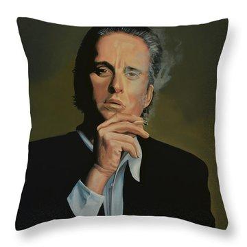 Michael Douglas Throw Pillow