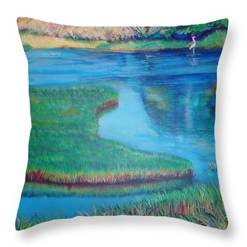 Myakka Sanctuary Throw Pillow