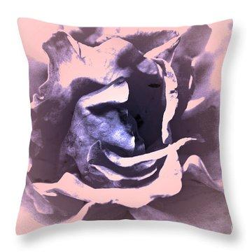 Mysterious Rose Throw Pillow