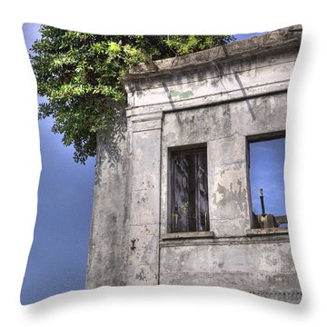 Nature's Coronet Throw Pillow by Kandy Hurley