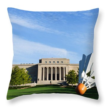 Nelson Adkins Art Museum Throw Pillow