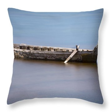 Past Its Best. Throw Pillow