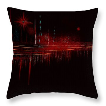 Penman Original - Untitled 79 Throw Pillow by Andrew Penman