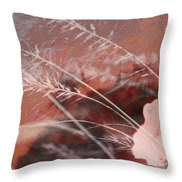 Pink Memories  Throw Pillow
