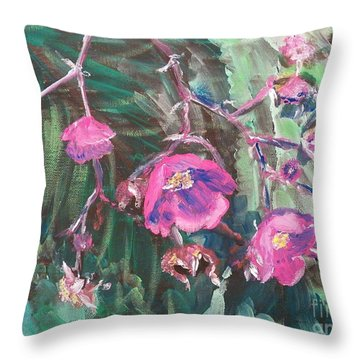 Ptg  Adirondack Wildflower Throw Pillow