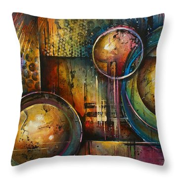 ' Remaining Elements' Throw Pillow