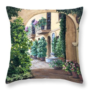 Sedona Archway Throw Pillow