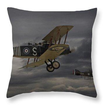 Show Me The Way Home Throw Pillow by Pat Speirs