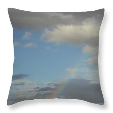 Skys The Limit Throw Pillow by Carla Carson