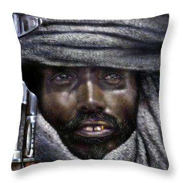 Somalia - How I Live  Throw Pillow