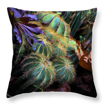 Spiny Plant Throw Pillow