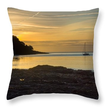 Sunrise Pendennis Point Throw Pillow