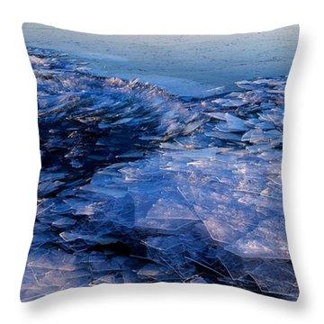 Superior Winter   Throw Pillow
