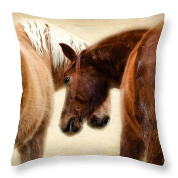 The Love Dance Throw Pillow