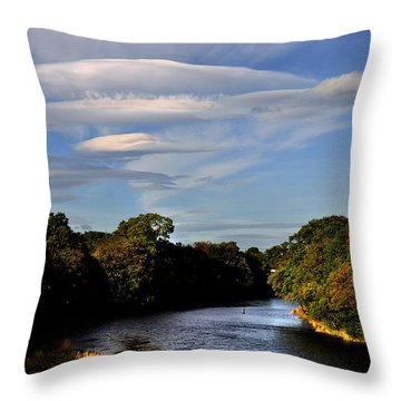 The River Beauly Throw Pillow