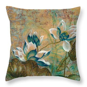 The Turquoise Incarnation Throw Pillow