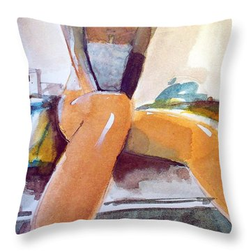 Tommie Copper  Throw Pillow