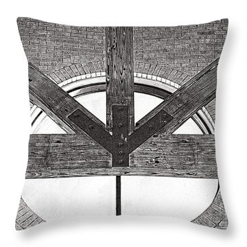 Trinity Series 1 Throw Pillow by Luther Fine Art