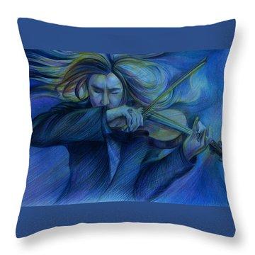 Virtuoso. David Garrett Throw Pillow
