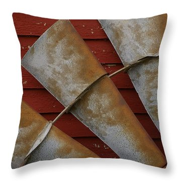 Windfan Leaning Throw Pillow