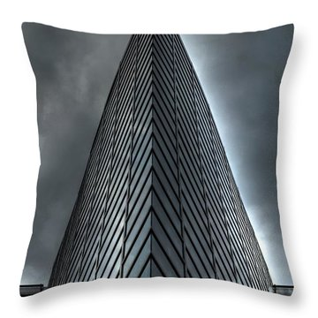 Throw Pillow featuring the photograph  Windows by Michelle Meenawong