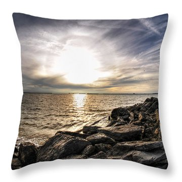 0011 Rest And Relax Series Throw Pillow