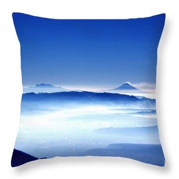 00704 Vulcanos Mexico Throw Pillow