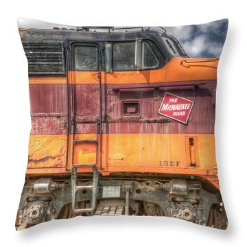 0119 The Milwaukee Road 2 Throw Pillow