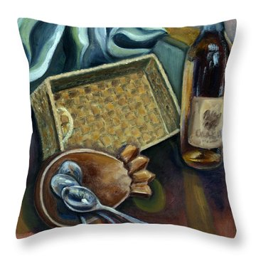 01296 Maybe A Party Throw Pillow