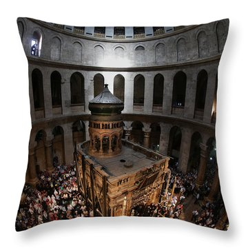 016 Jerusalem Throw Pillow by Alex Kolomoisky