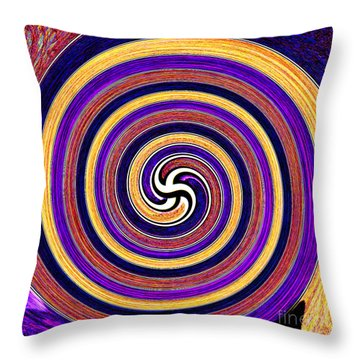 0175 Abstract Thought Throw Pillow by Chowdary V Arikatla