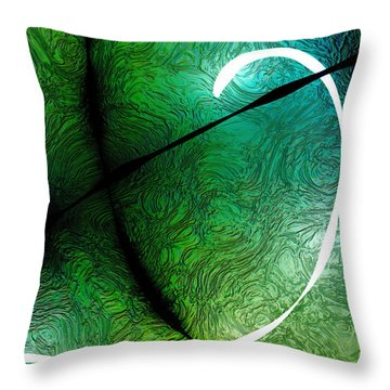 021515 Positive Negative Light Throw Pillow by Matt Lindley