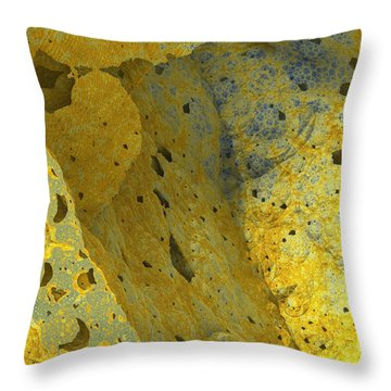 The Linear Dimension Throw Pillow