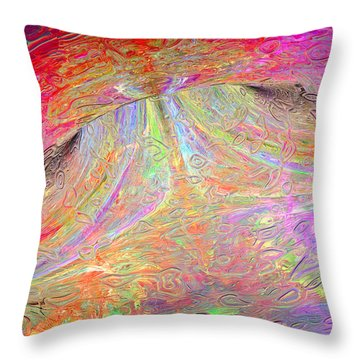 022815 Throw Pillow by Matt Lindley