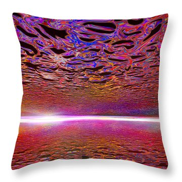 030415 Throw Pillow by Matt Lindley