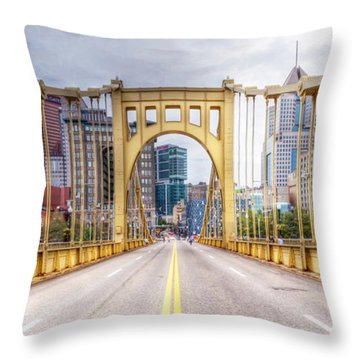 0305  Pittsburgh 10 Throw Pillow