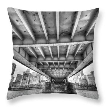 0308 Pittsburgh 5 Throw Pillow