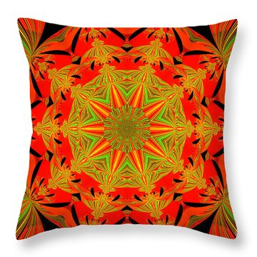 Brighten Your Day.unique And Energetic Art Throw Pillow