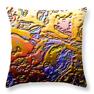 0365 Abstract Thought Throw Pillow