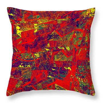 0384 Abstract Thought Throw Pillow