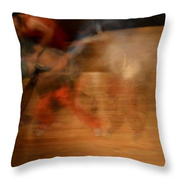 Throw Pillow featuring the photograph 046-2 by Lyle Crump