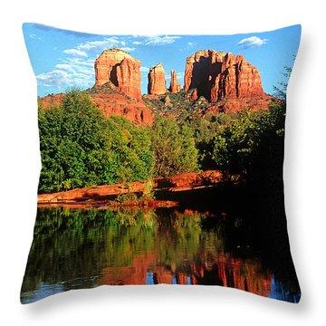 0464 Sedona Arizona Throw Pillow by Steve Sturgill